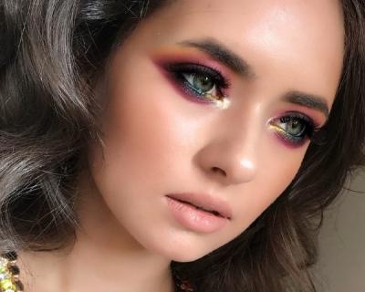 Углубленный курс : «Формы, текстуры, цвет в макияже»