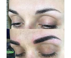 Перманентный макияж бровей, губ, межреснички